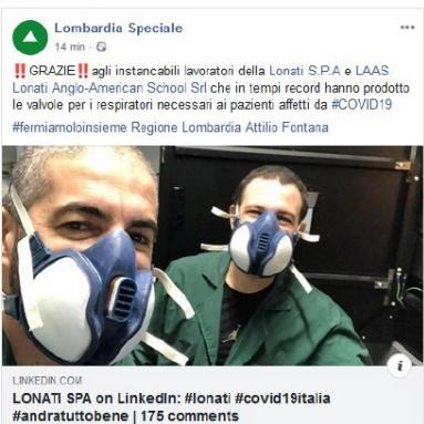 Lombardia Speciale, they write about us